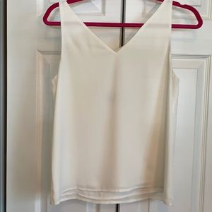 Tank top with cross back